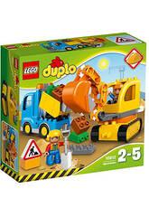 Lego Duplo Camión y Excavadora Con Orugas 10812