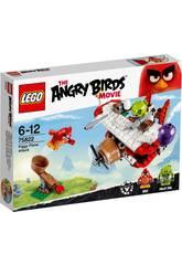 Lego Angry Birds Ataque En El Avión De Los Cerdos