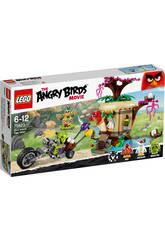 Lego Angry Birds Le vol de l'œuf de l'île des oiseaux