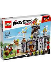 Lego Angry Birds Le château du Roi Cochon
