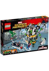 Lego Sh Spider-Man le piège à tentacules de Doc Ock
