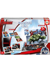 Educa - Gioco Superpack Ultimate Avengers