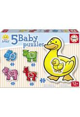 Baby Puzzle 12 mesi la fattoria.