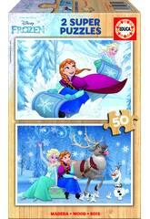 Puzzle 2x50 Frozen