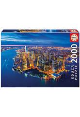 Puzzle 2000 New York Depuis Les Airs