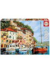 Puzzle 2000 La Barque Rossa Alla Calata - Borelli