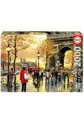 Puzzle 2000 Arco do Triunfo Educa 16778