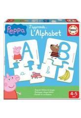 J'Apprends L'Alphabet Peppa Educa 16223