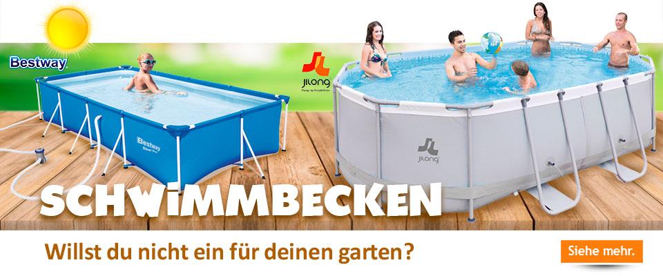 Schwimmbäder der besten Marken